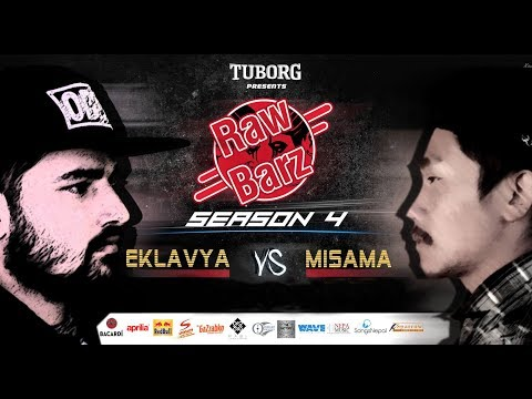 Eklavya vs Misama  Battle  Tuborg Presents RawBarz Rap Battle S4E3 Nepali Video