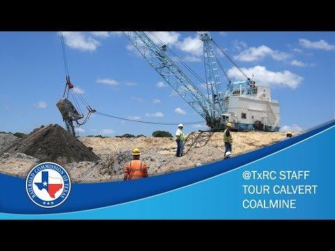 @TxRRC Staff Tour Calvert Coal Mine