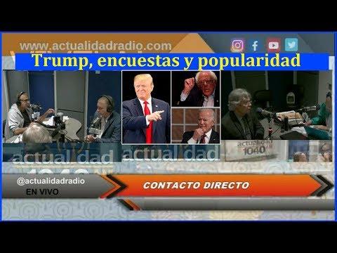 Trump, encuestas y popularidad