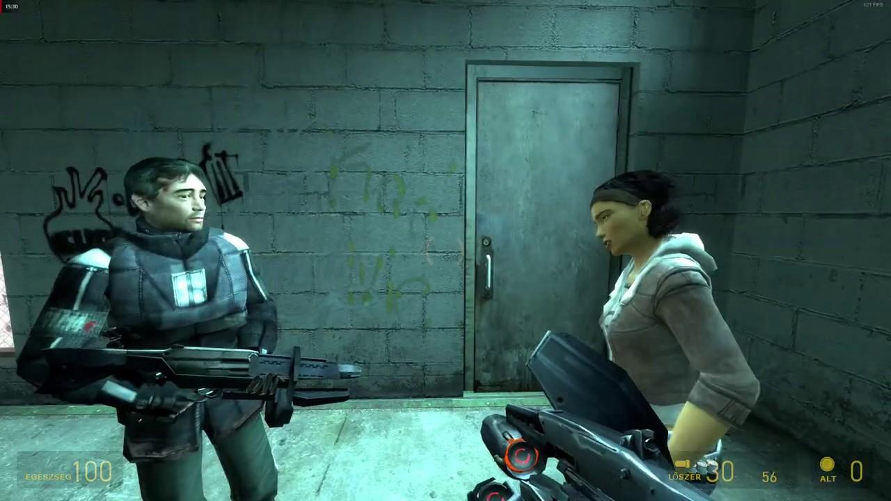 Half-Life 2 (Part 5, Gameplay, Nvidia Shield) - YouTube