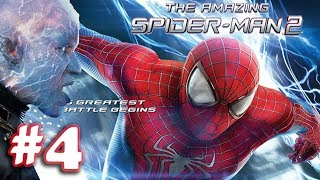 The Amazing Spider Man 2 - Movie Game Walkthrough (1080P) - Part 4 (iOS)
