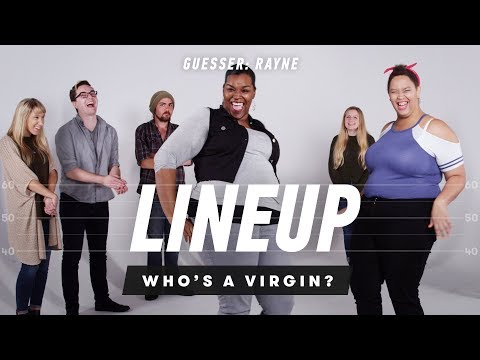 People Guess Who's a Virgin from a Group of Strangers (Rayne) | Lineup | Cut