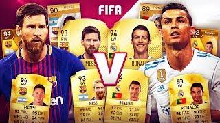 MESSI VS RONALDO DE FIFA 10 À FIFA 18 !!! thumbnail