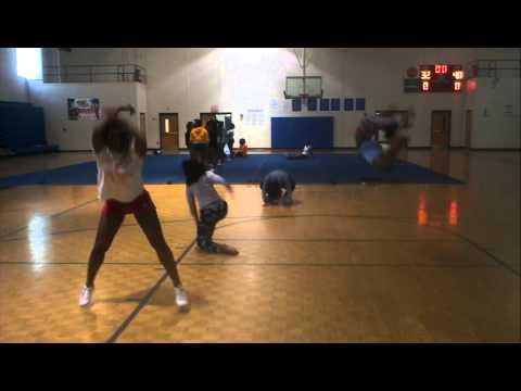 North Clayton High School Dance Team 2011 Part 1