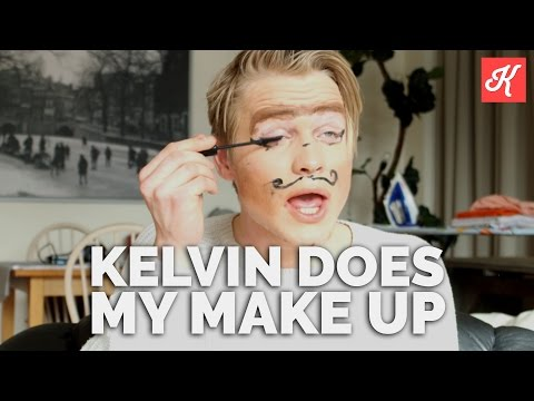 MY KELVIN DOES MY MAKE-UP | TheKelvlog