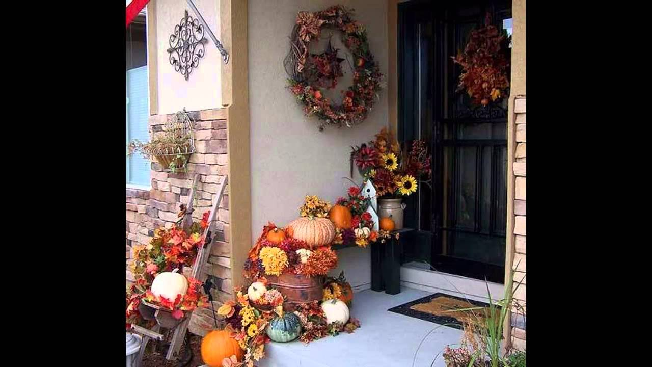 Awesome Fall Porch Decorating Ideas Youtube