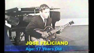 Jose Feliciano in The Original Amateur Hour 1962 (He was 17)