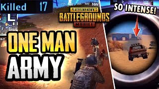 ONE MAN WRECKING CREW ON MIRAMAR! (PUBG Mobile)