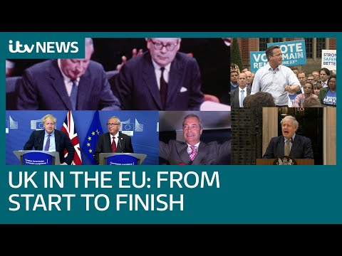 Brexit: Britain's 47 year relationship with the EU in three minutes | ITV News