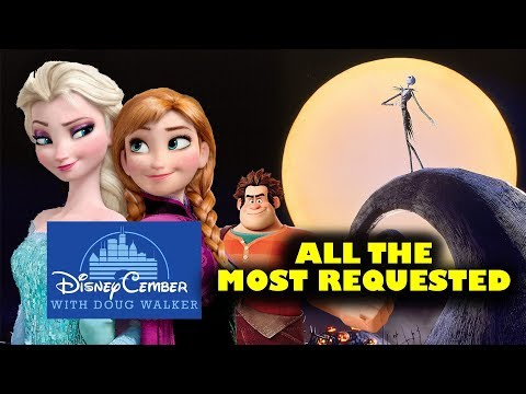 All Disney Most Requested Movies - Disneycember