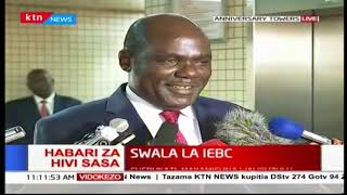 Mwenyekiti wa IEBC azungumza kuhusu makamishna waliojihuzulu