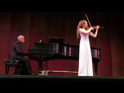 Mendelssohn Violin Concerto in E Minor, 3rd mvt. Yvette Kraft, 15