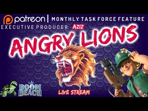 Download Boom Beach ANGRY LIONS - Forlorn Hope! - Patreon Producer: Aziz
