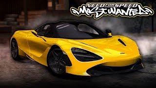 NFS Most Wanted | McLaren 720S Mod Gameplay [1440p60]