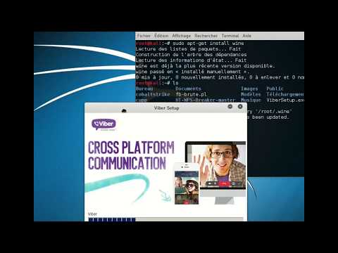 Viber App In Kali Linux 2.  32&64  Bit Systems
