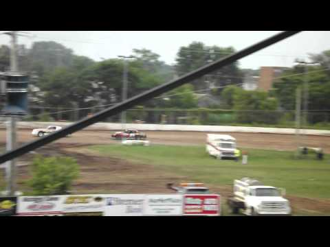 red cedar speedway heat race  6-15-12