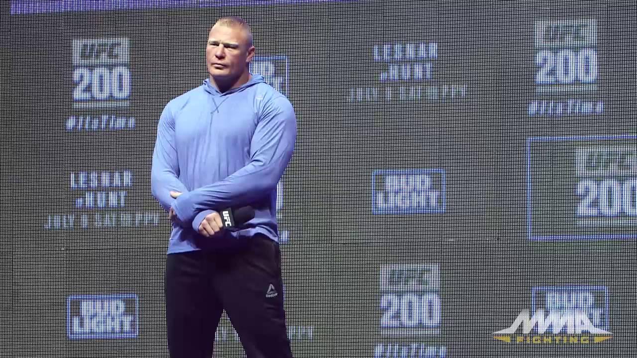Ufc Training Workouts Brock Lesnar