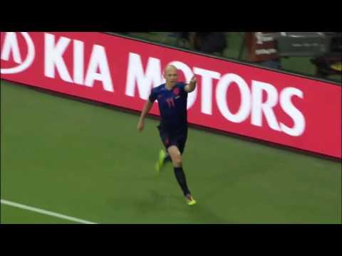 Spanje VS Nederland 1-5 WK 2014