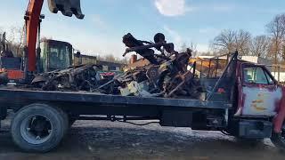 New scale, BiG copper score, another farm scrap cleanup job!