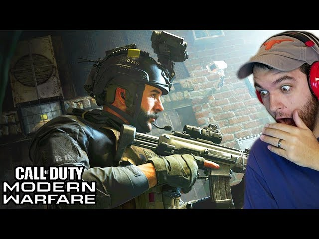 CALL OF DUTY MODERN WARFARE TRAILER REACTION w/ NOAHJ456!