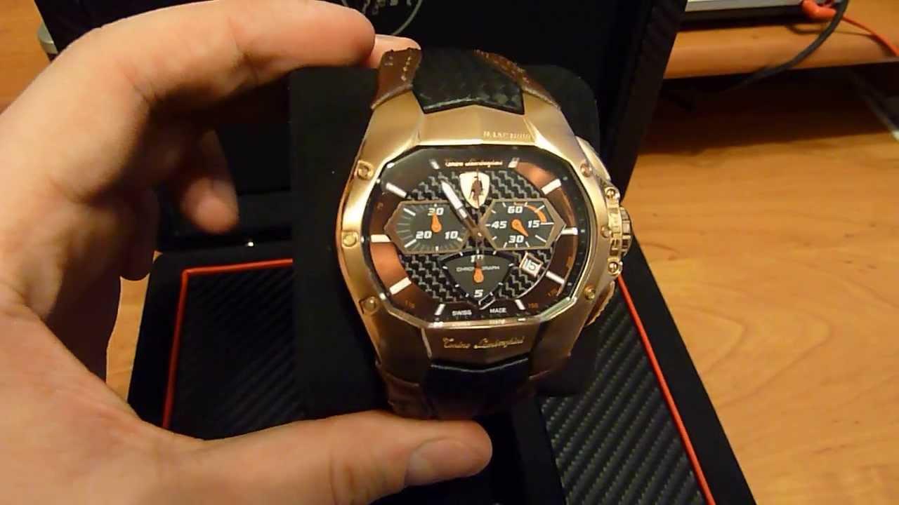 Tonino Lamborghini Watch >> Tonino Lamborghini GT1 - YouTube