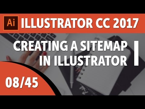 creating-a-sitemap-in-illustrator---adobe-illustrator-cc-2017-course-[08/45]
