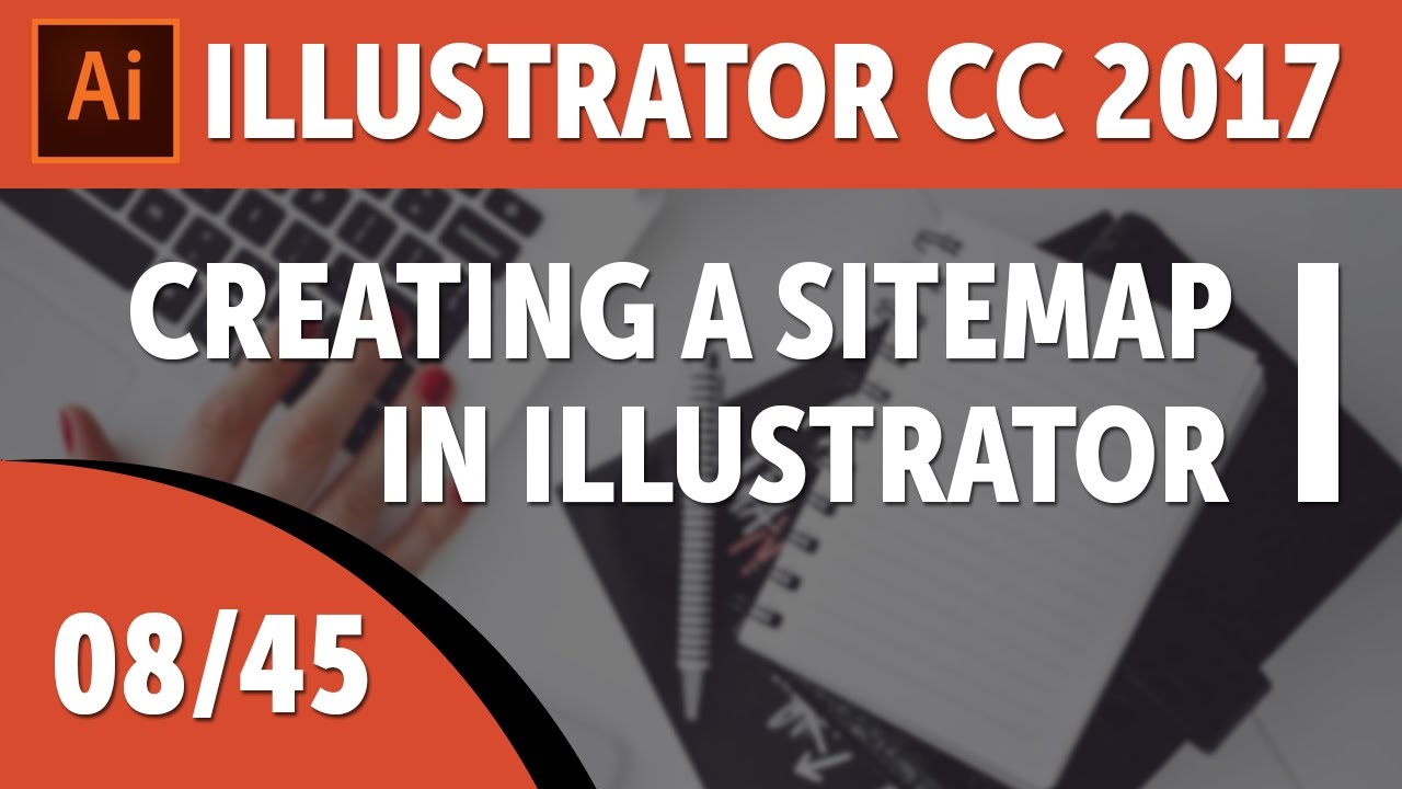 creating a sitemap in illustrator adobe illustrator cc 2017 course