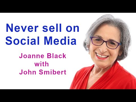 """""""B2B Social Selling: The good, bad and the ugly"""" - Joanne Black (Talking Sales 255)"""