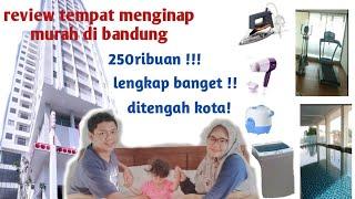 Gambar cover Review air bnb murah di bandung ! Penginapan murah terlengkap di bandung !!!