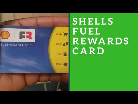 Shells fuel rewards card