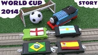 Play Doh World Cup Brazil Football Kids Thomas & Friends Soccer Song Playdough Story 2014 Goals
