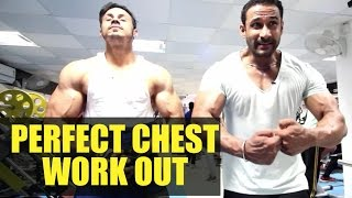 Perfect chest workout- Training video