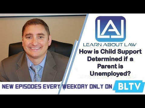 How is Child Support Determined if a Parent is Unemployed or Underemployed? | Learn About Law