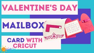 Cricut Valentine's Day Mailbox Card | Melody Lane