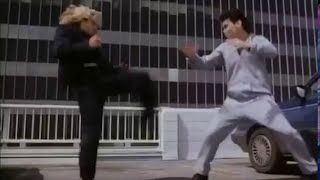 """Pure Fight Scenes: Don The Dragon Wilson, Gary Daniels (1) """"Bloodfist 4: Die Trying"""" (1992)"""