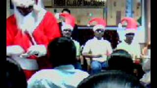 Indian Disabled League Band (IDL) singing Christmas song, carol.avi