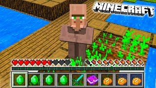 Minecraft: ZMIENIŁEM SIĘ W WIEŚNIAKA! | Jak Grać Jako WIEŚNIAK