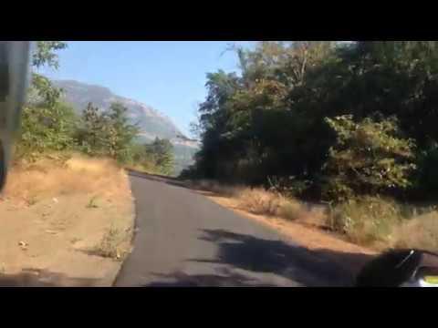 On the Way to Raigarh Fort | Maharastra | RE Thunderbird 350|