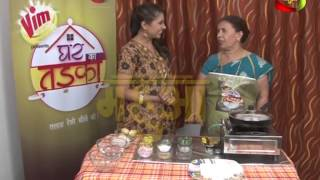 "Chura Ke Cutlet- ""Bhojpuri Recipes"" by Shanti Tiwari on Mahuaa TV- Ghar Ka Tadka Epi 30 Seg-1"