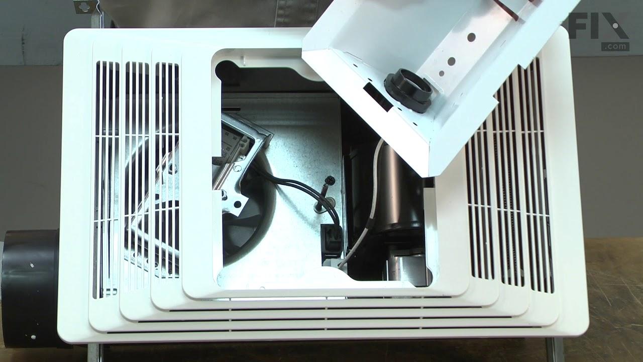 Broan Bath And Ventilation Fan Repair, Bathroom Vent Heater Not Working