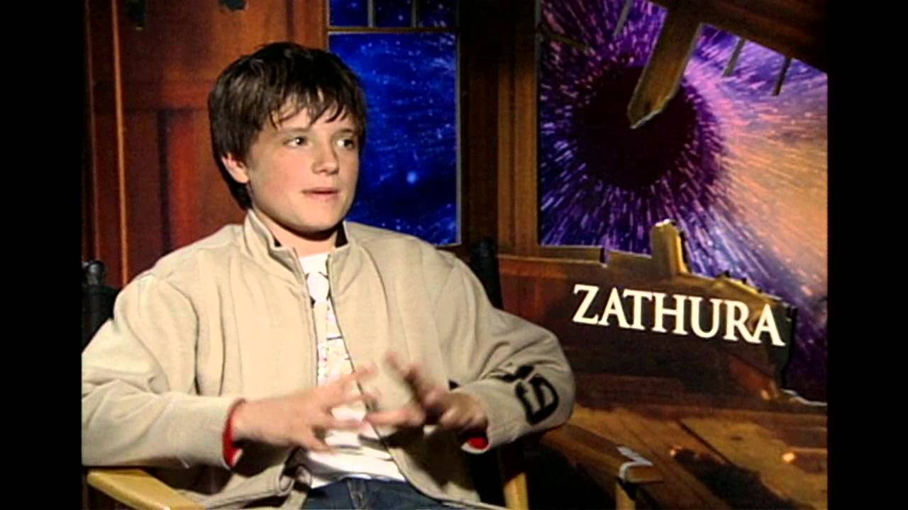 Zathura: Josh Hutcherson Exclusive Interview - YouTube