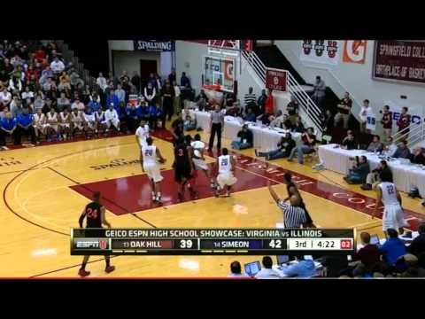 Jabari Parker 28 points vs. Oak Hill Full Highlights (1/21/13)