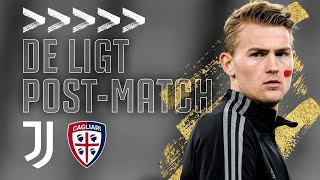 🎙 MATTHIJS DE LIGT POST-MATCH INTERVIEW | Juventus 2-0 Cagliari | Serie A