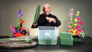 Floral Foam Soaking How-To