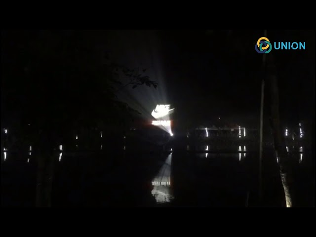 Nhạc nước nghệ thuật với 3d projector | UNION JSCO