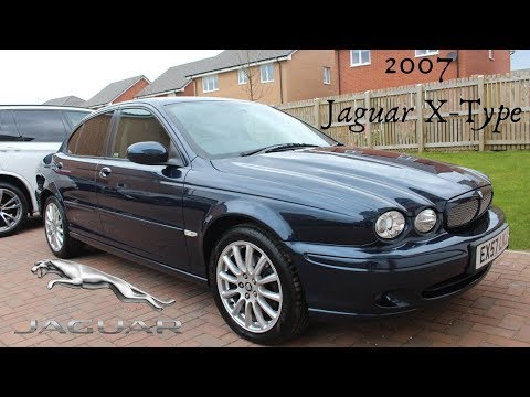 2007 Jaguar X-Type Diesel 2.2d Review