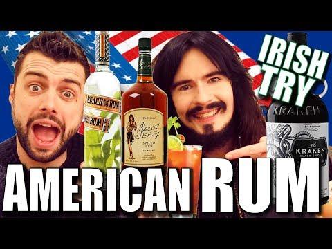 Irish People Taste Test 'AMERICAN RUM' - New Jersey / Florida / Hawaii