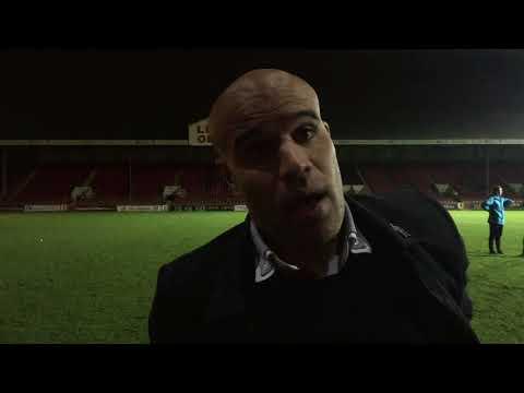 CFCTV: Marcus Bignot post match Leyton Orient