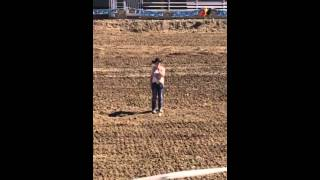 Nicole Taibi - National Anthem - Practice Before The Demo Derby