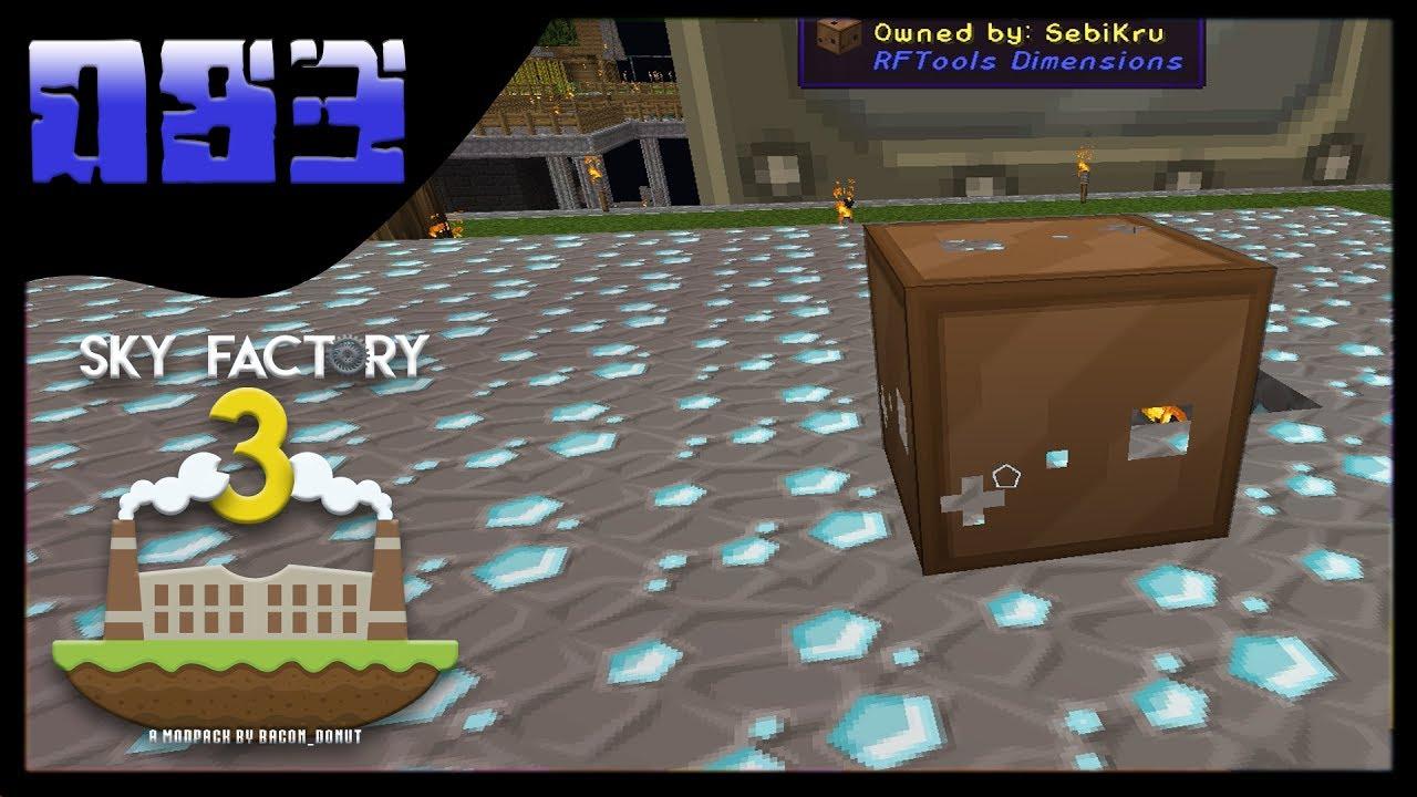 Minecraft Sky Factory DimmensionsSpiele FTB Modpack - Minecraft modpacks spielen